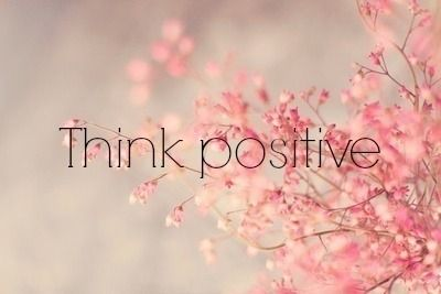 It's pretty, how could you not think positively?