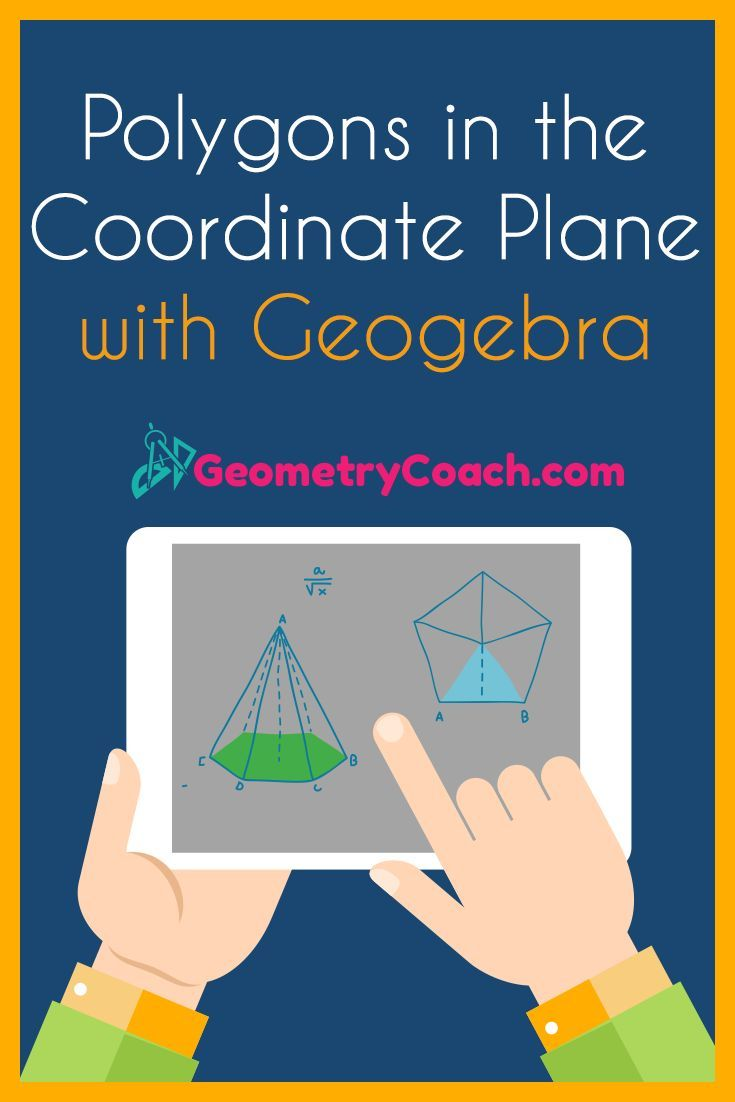 Polygons In The Coordinate Plane Using Geogebra Geometry