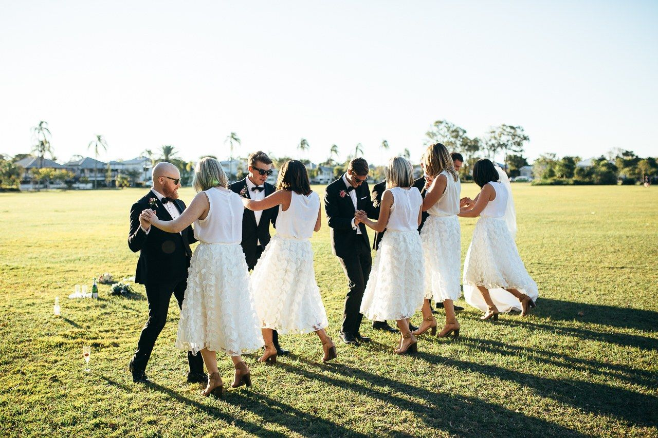 A Timeless Australian Wedding at the Bride's Family Home