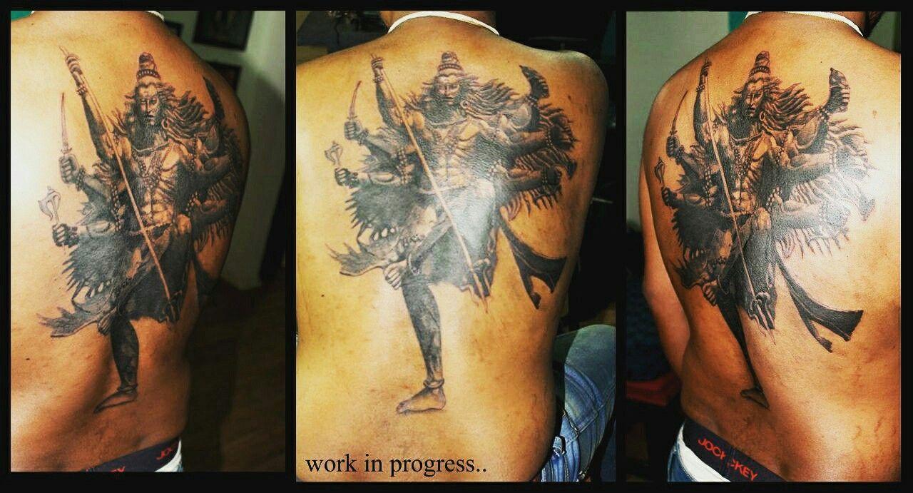 Lord Shiva tandav dance tattoo design | Tattoo designs ...