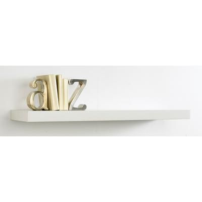 Perfect Home Essentials Floating Shelf White 24 Inch
