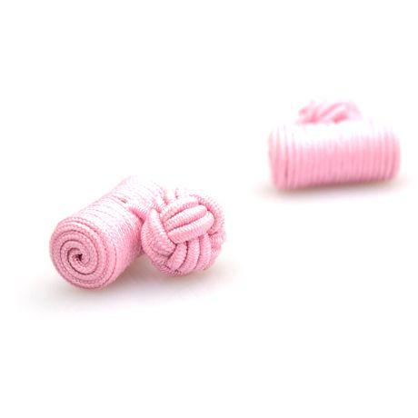 Passementerie boule et bûche rose - Kadice