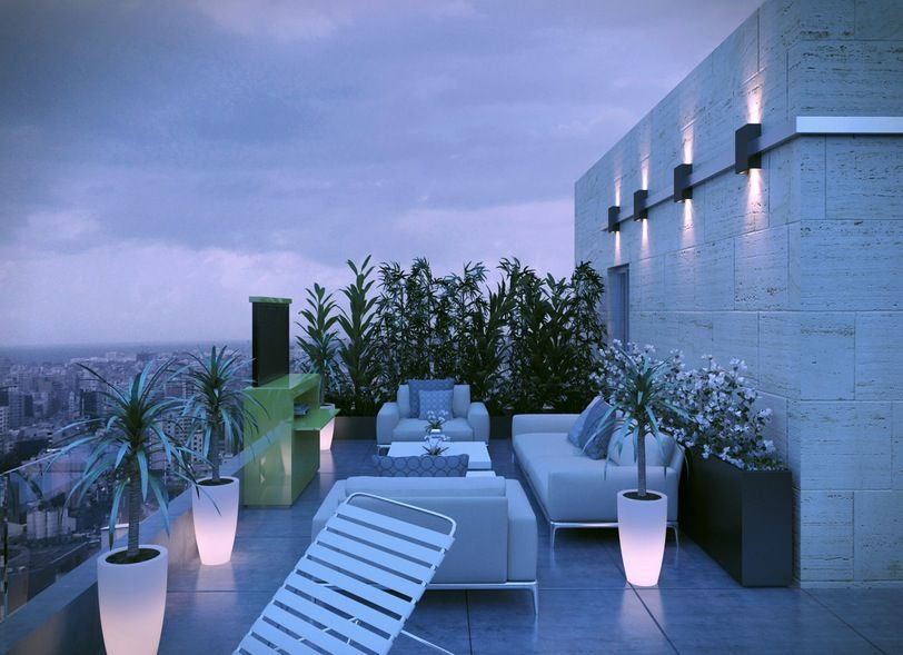The three modern spaces we feature here are the work of egyptian architect and cg artist