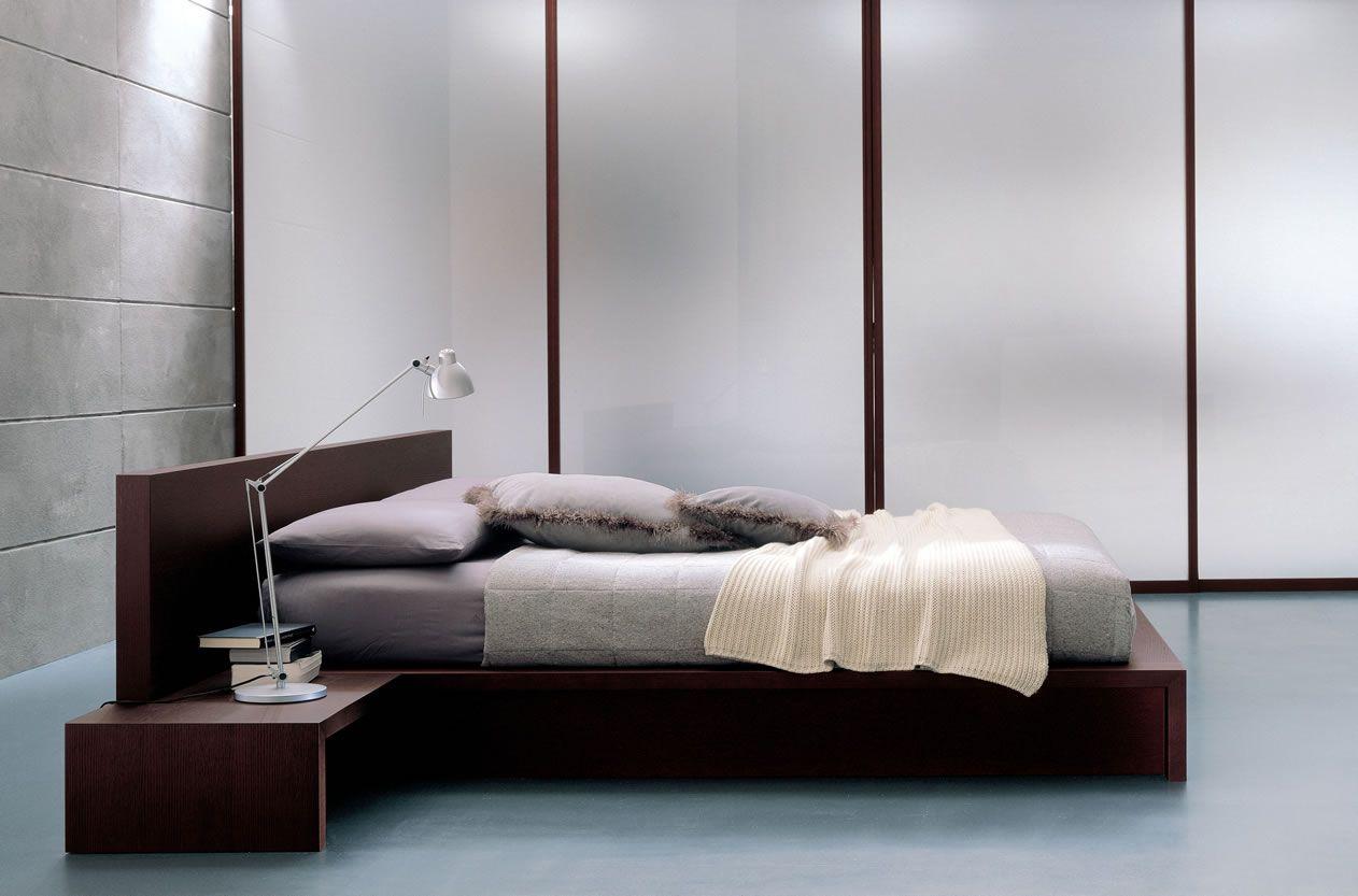 Made in Italy Wood Platform Bedroom Furniture Sets St. Petersburg ...