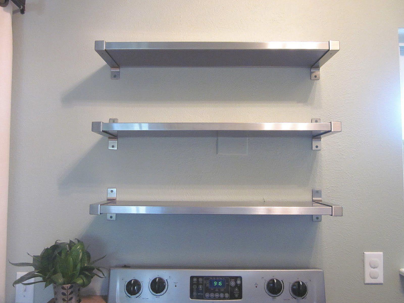 Ikea Insanity Kitchen Shelves Stainless Steel Kitchen Shelves Kitchen Wall Shelves Ikea Kitchen Shelves