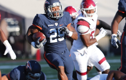 Aaron Jones And Utep Roll Past Nmsu In Battle Of I 10 Conference Usa Football Helmets Bein Sports