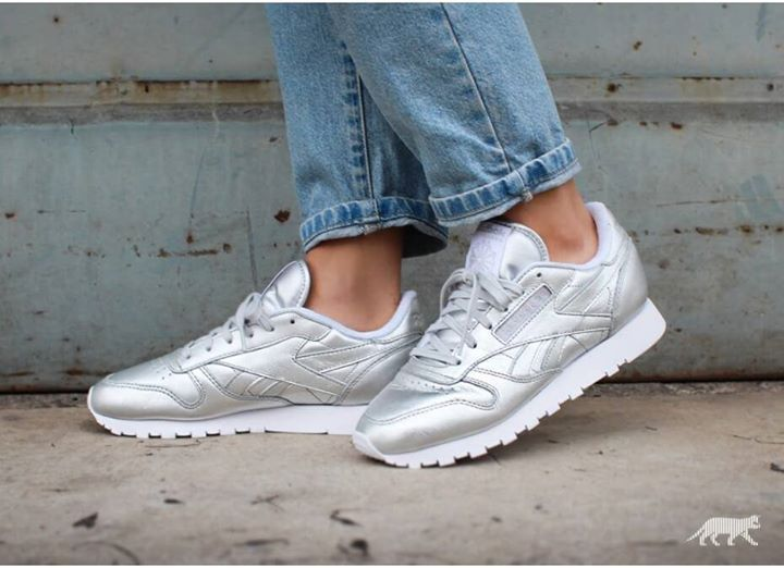 Reebok x Face Stockholm Classic Spirit Silver. Available now. http://ift