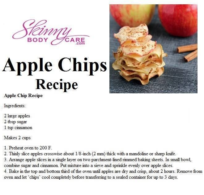 Apple Chips - the perfect #snack