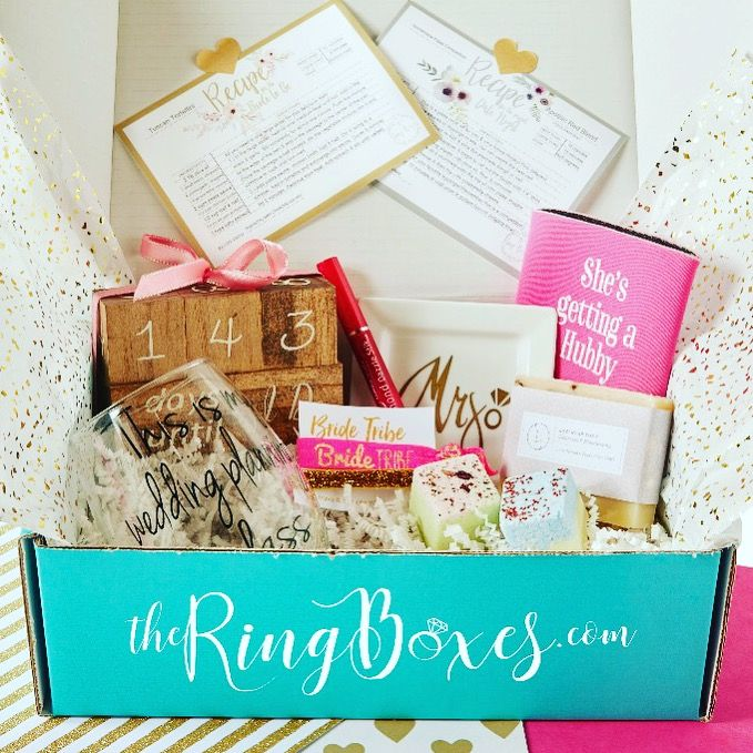 The Perfect Subscription For Any Bride To Be Wedding Subscription Box Bride Subscription Box Bride Box Gift