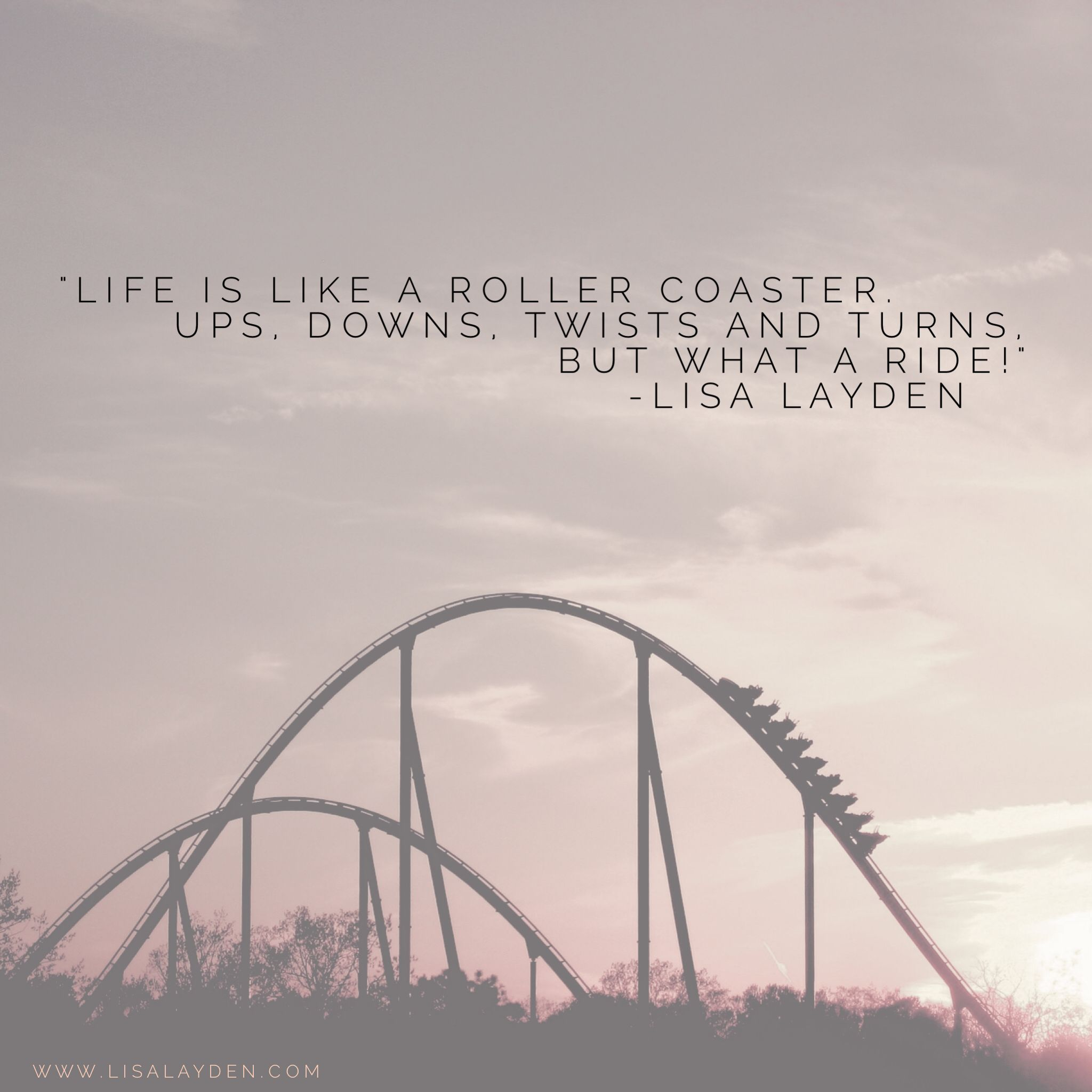 The Rollercoaster of Life is Full of Ups and Downs