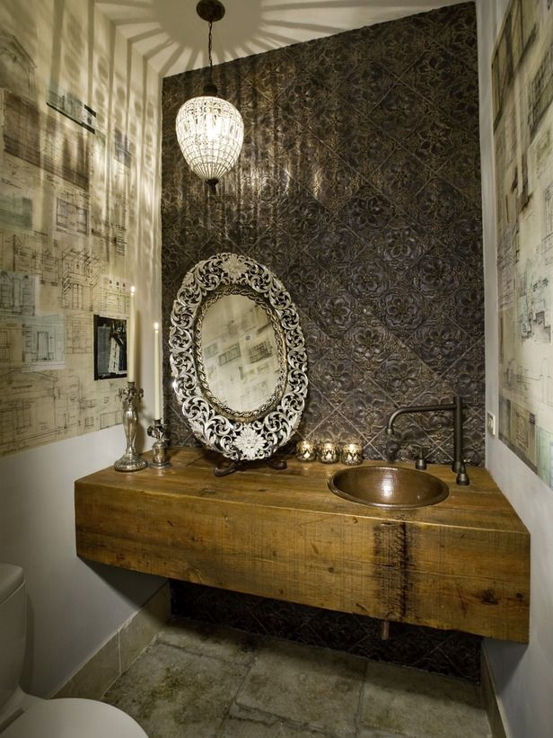 powder room bathroom lighting ideas. Bring Out The Crystal - In Reference To A Project Her Colleague Terri Crittenden Designed, Lonnie Says Chandeliers Can Move Of Dining Room Powder Bathroom Lighting Ideas