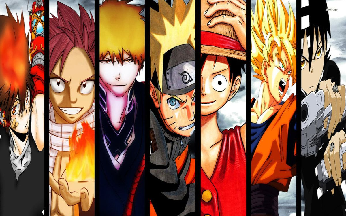 All Anime Characters Anime Wallpaper Anime All anime in one wallpaper hd