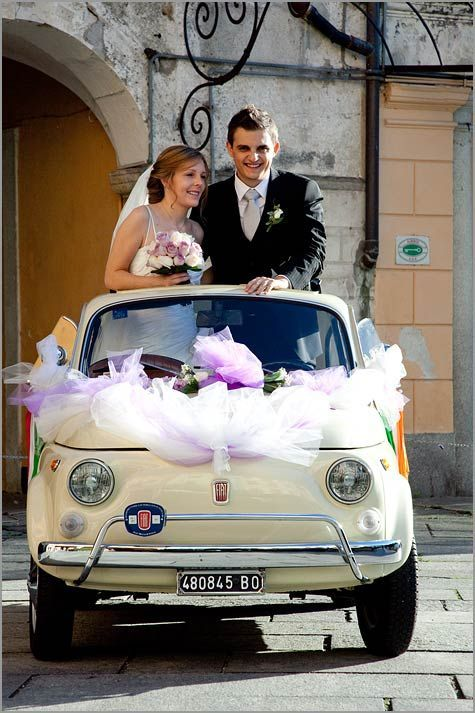 Fiat 500 is a real Italian style icon in 2020 | Wedding ...