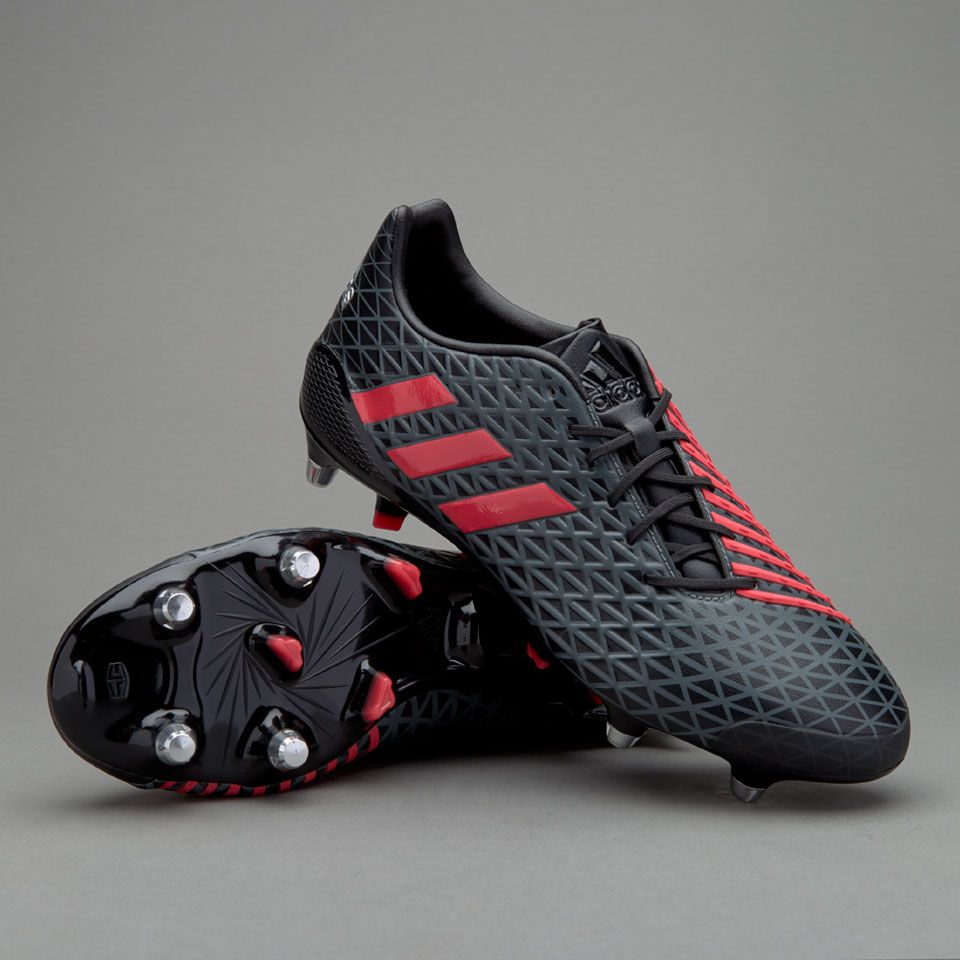 6ddf3e2b33ed adidas Predator Malice SG - Core Black Shock Red Solid Grey