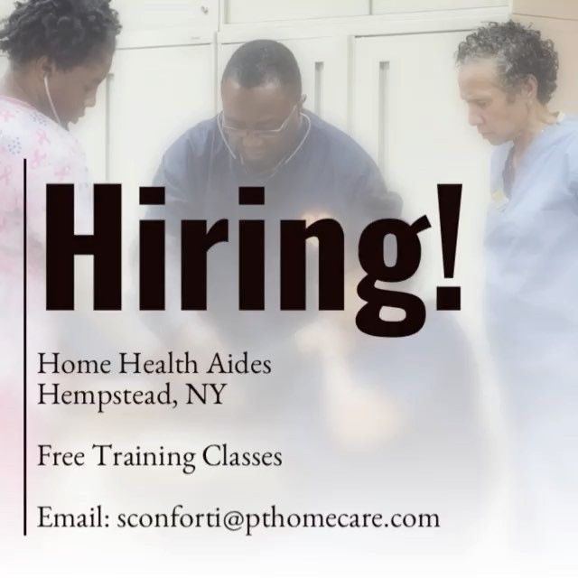 Personal Touch Is Hiring Home Health Aides Hempstead Ny