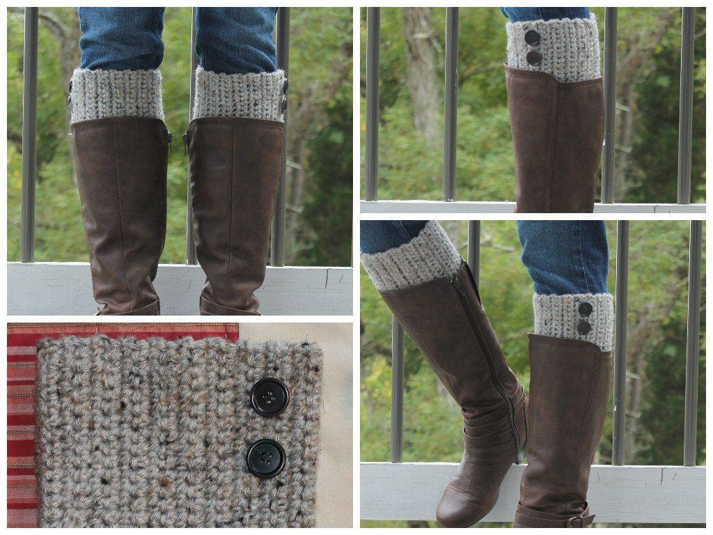 Handmade Crochet Barley Boot Cuffs Boot Topper Leg Warmers