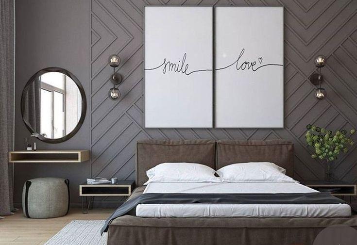 Elegant Mid Century Modern Bedroom Design Ideas 25 In 2020 Master Bedrooms Decor Small Master Bedroom Modern Bedroom Design