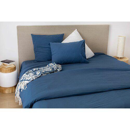 Demi 100 Cotton Fitted Sheet Ebern Designs Colour Midnight