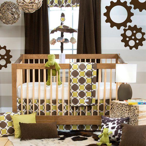 Urban Cowboy 3 Piece Crib Bedding Set|Sweet Potato Collection by Glenna Jean