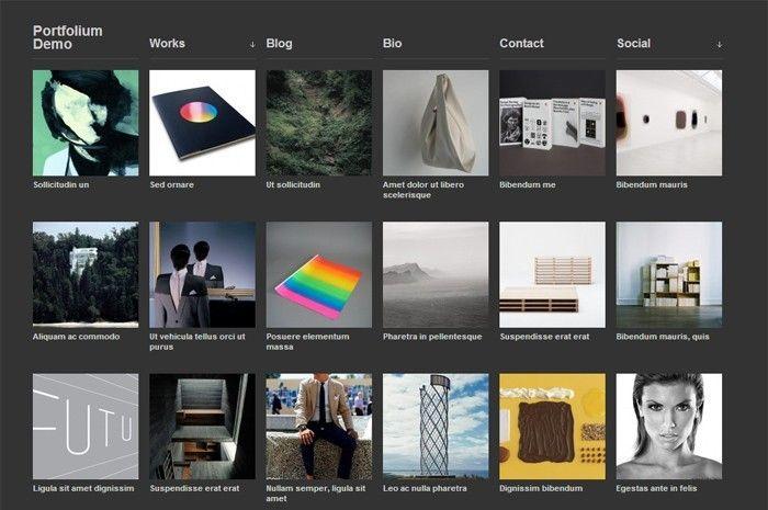 Portofolium Wordpress Portfolio Theme