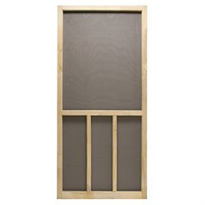 Attractive Precision Screen Door, Wood, 30 X 80 Inch: Model