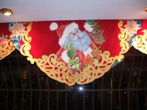 Cortinas navide as con luces buscar con google navidad for Cocina de navidad con sara