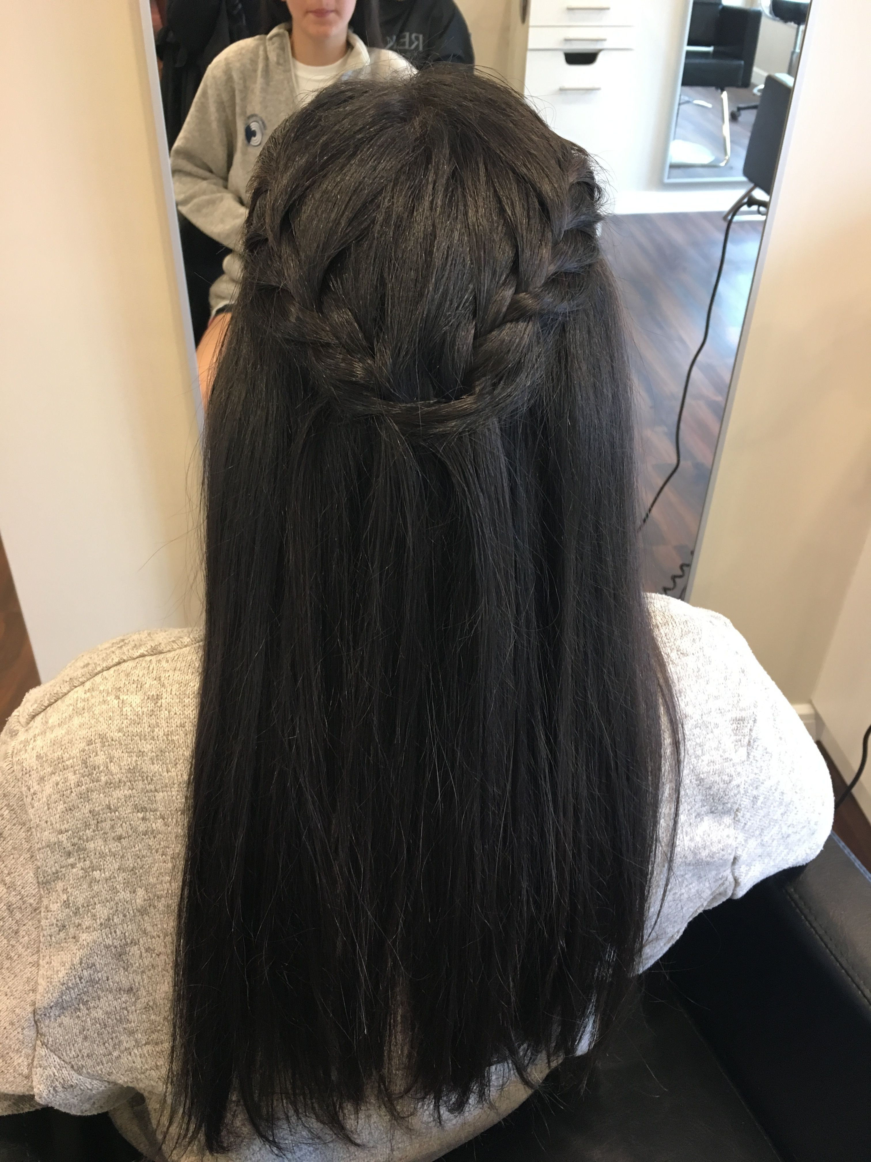 Longhair Braids Straight Prom Hair Prom Hairstyles For Long Hair Long Hair Styles