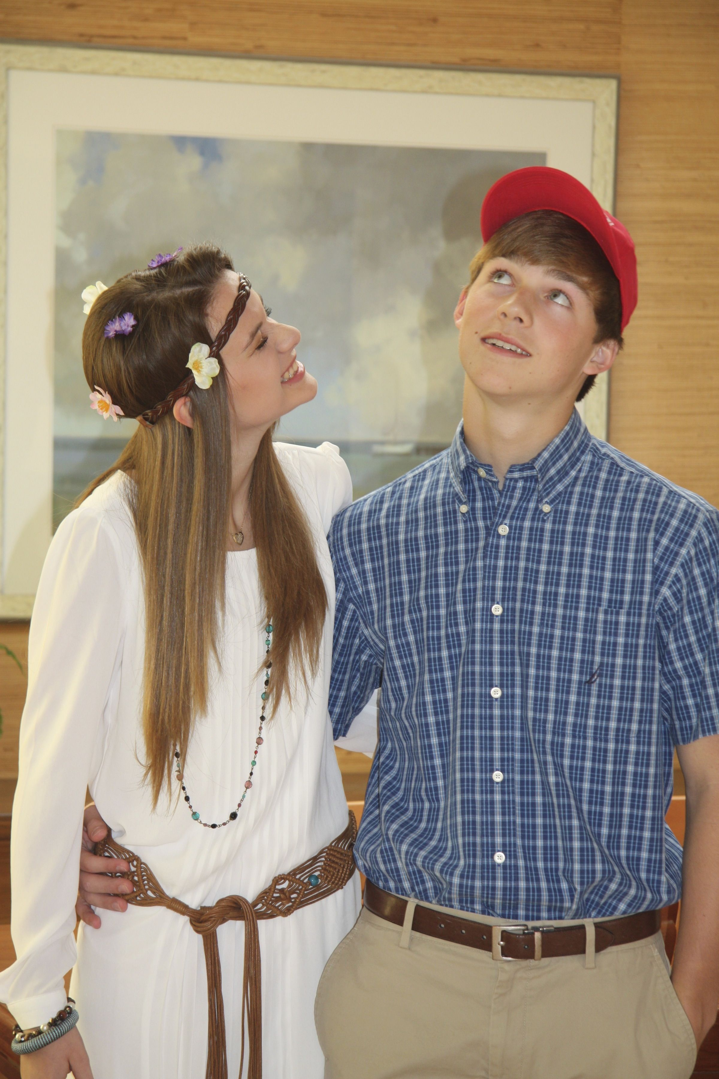 Jenny and Forrest Gump costume DIY Heaven Pinterest