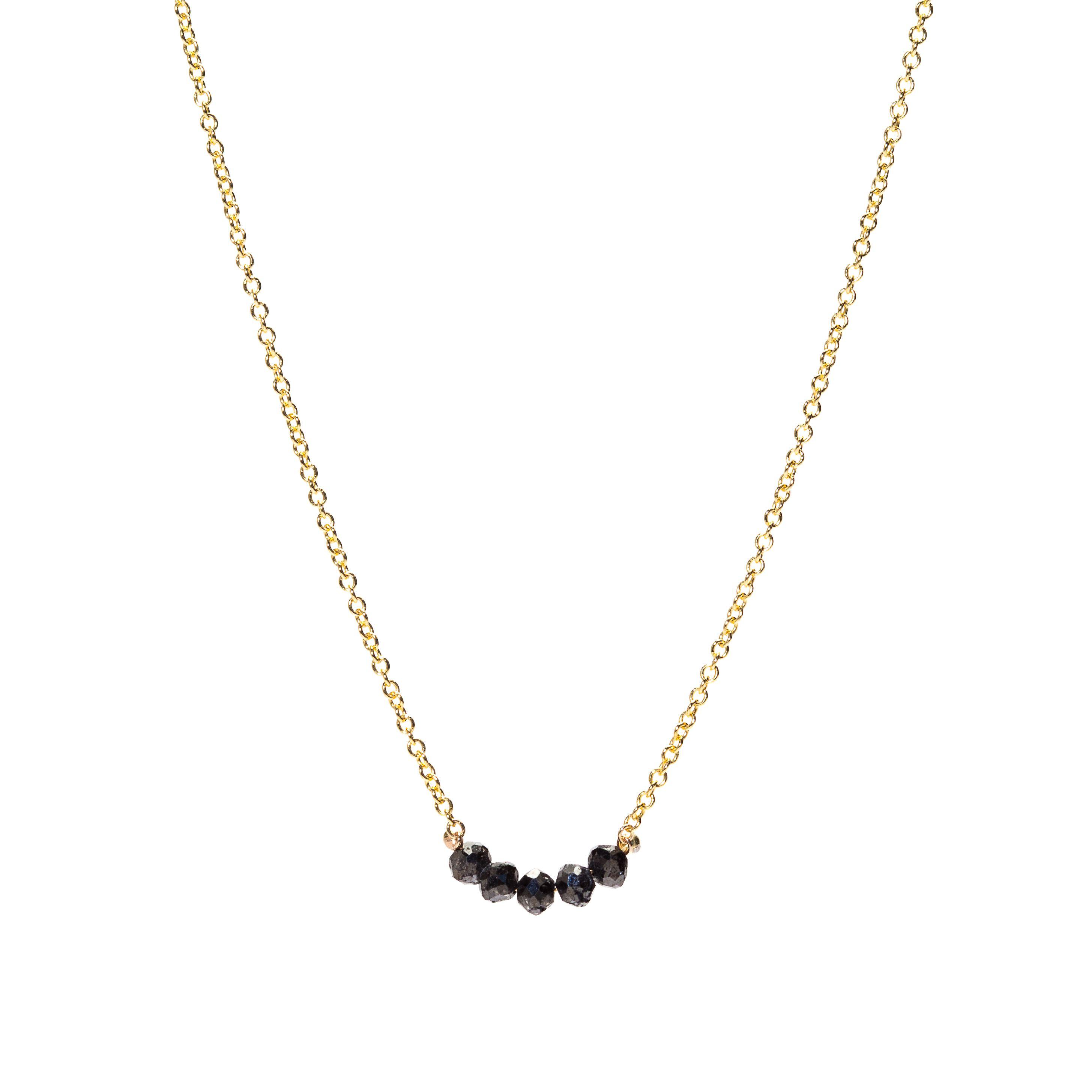 ea429d8ef Black Diamond Smile Necklace | Bracelets & Necklaces | Black diamond ...