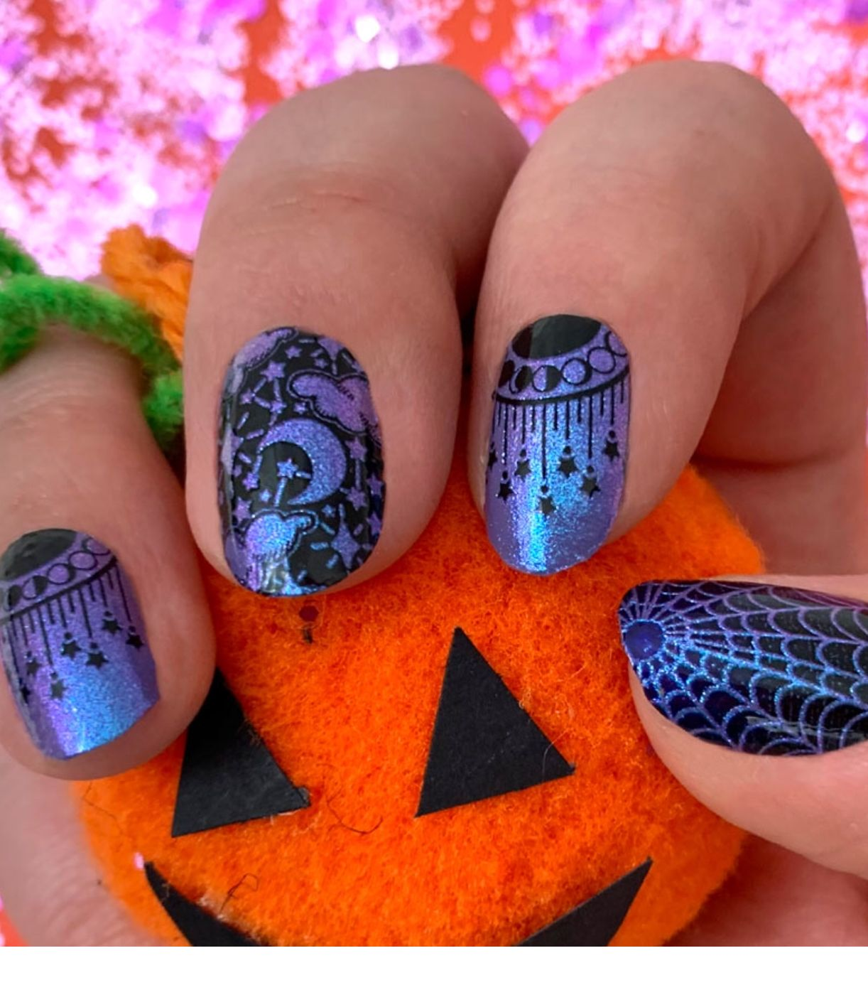 Hex girlfriend Color street nails
