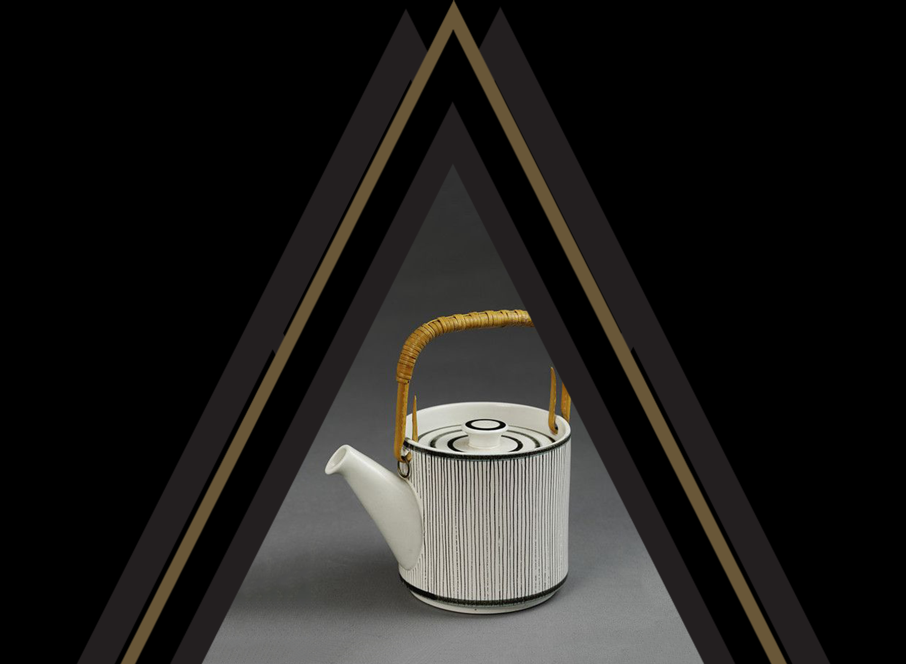 raoul & simone • PATTERNS ON OBJECTS BOARD    Tea Pot Design by Stig Lindberg