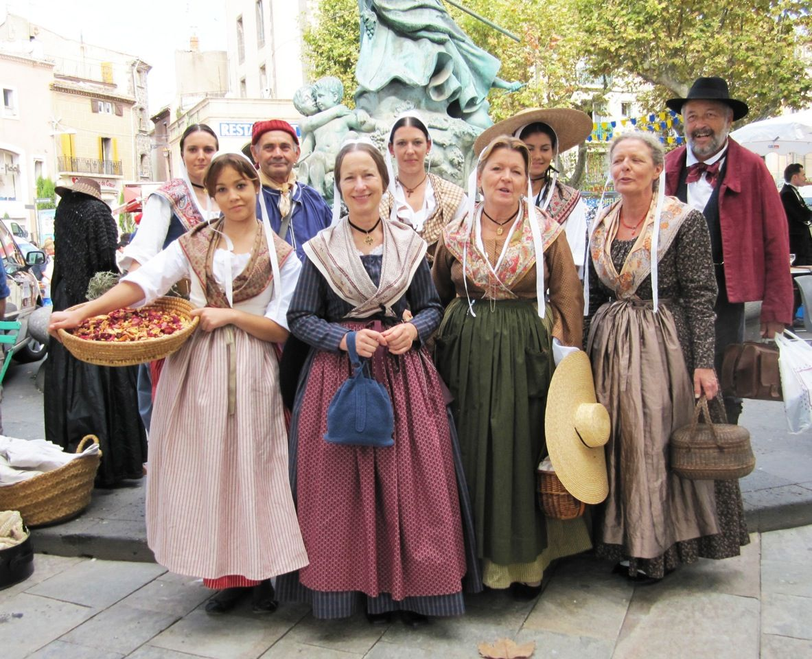 Traditional clothing in france