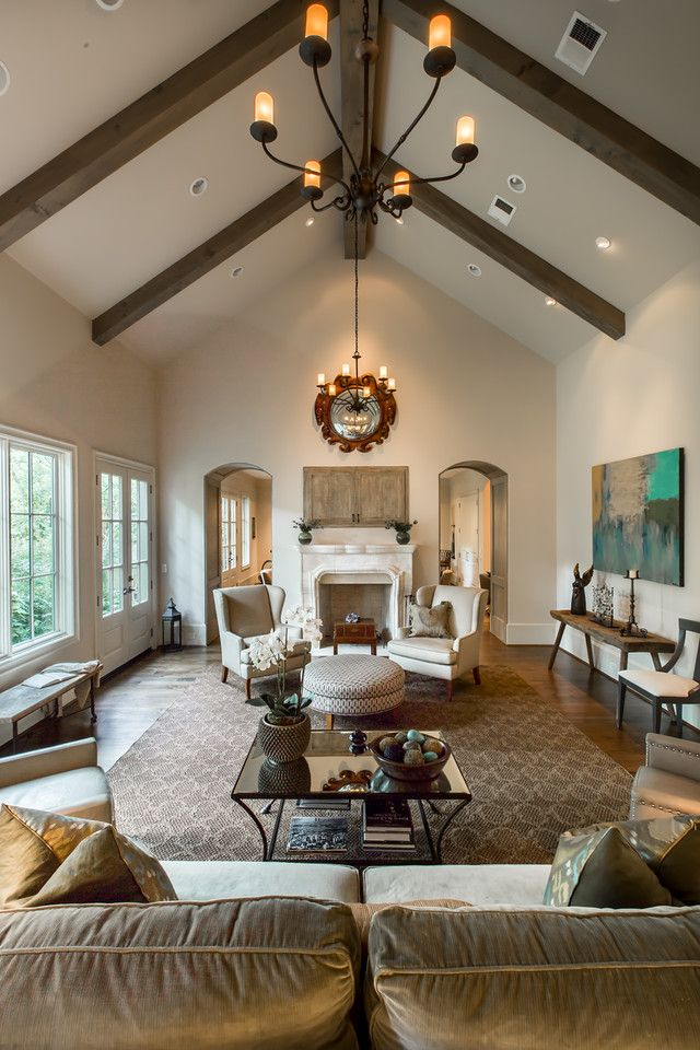 Designed by Diana Walker – Houston home designed with a combination of Texas, French and Southwest styles.