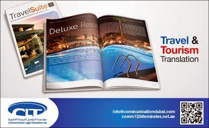 #Travel & #Tourism #Translation by Communication Legal Translation  www.communicationdubai.com/travel-and-tourism-translation.php