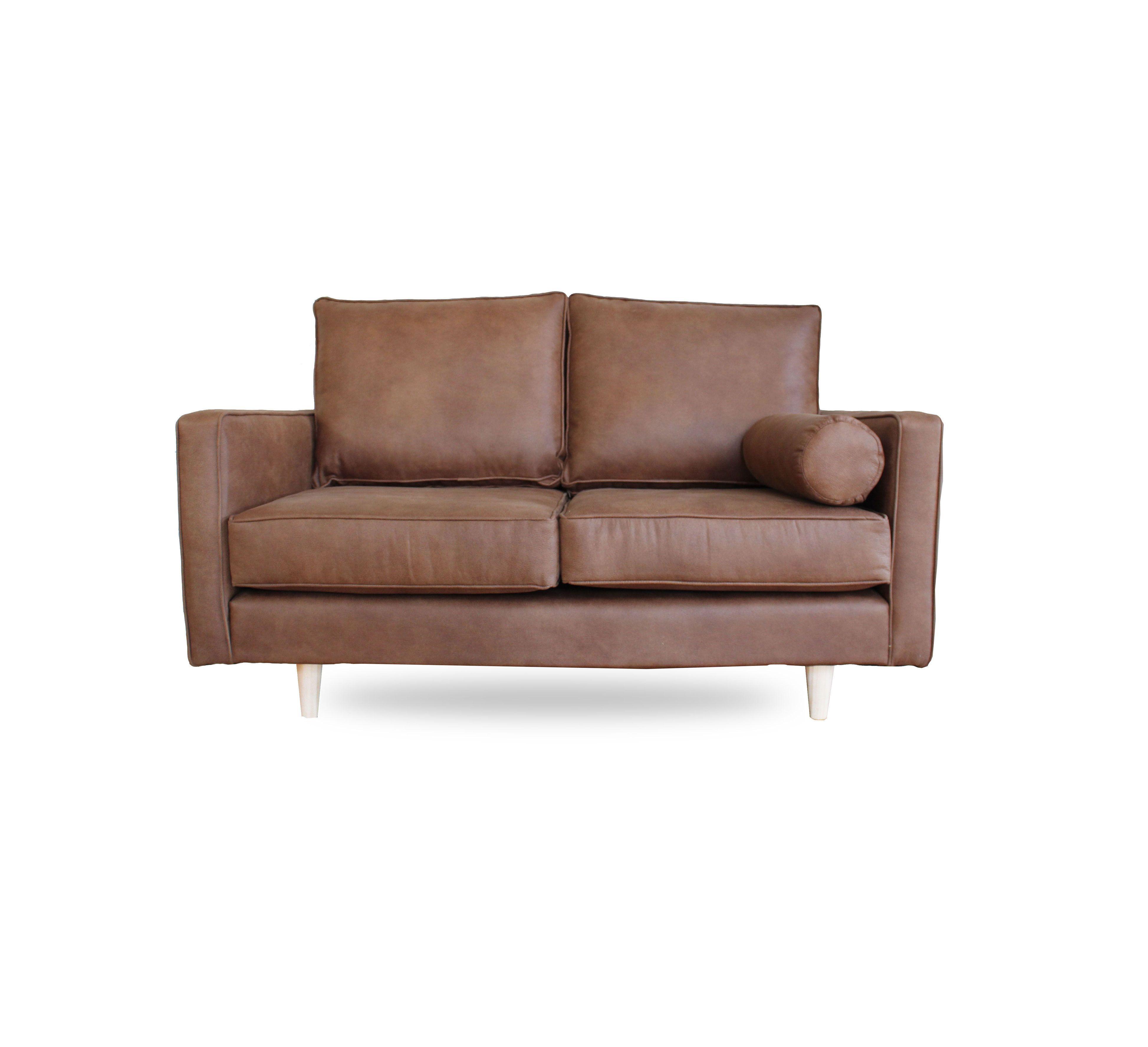 Vegan Leather 2 Seater Leather Sofa Seater Warwick Fabrics