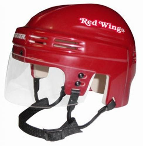 Official Nhl Licensed Mini Player Helmets Detroit Redwings Find Your Team Readygolf Com Hockey Helmet Red Wings Detroit Red Wings