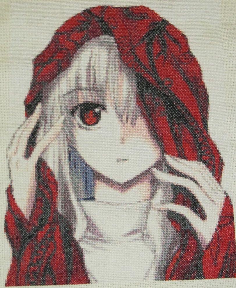 Cool anime cross stitch