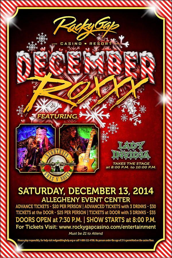 Cascades Casino Upcoming Events