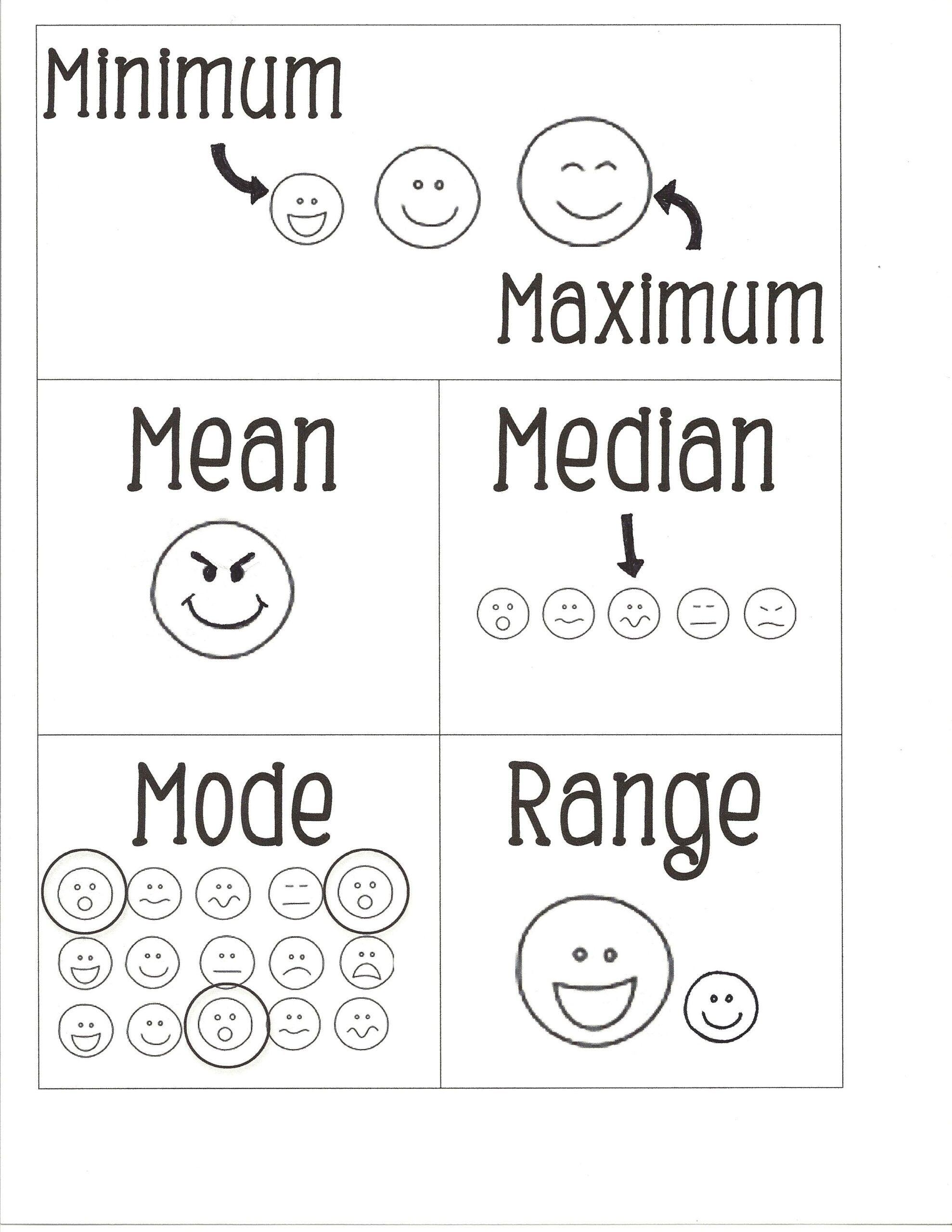 Range Mode Median Worksheets In 2020 Math Worksheets Free Math Worksheets Math Addition Worksheets