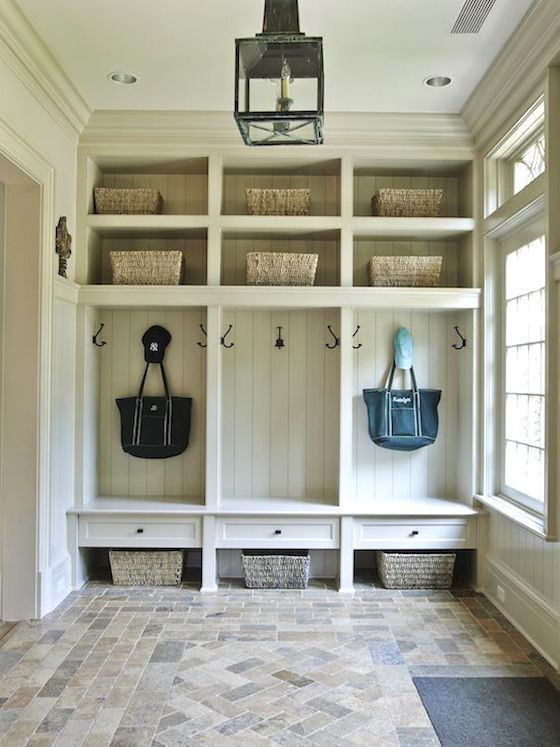 Every Home Should Have A Mudroom Or At Least An Entryway Large Enough For A  Bench