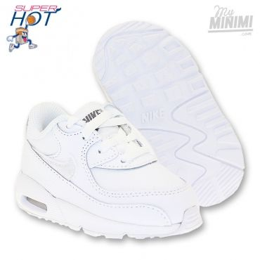 Nike Air Max 90 TD - Baskets enfant du 19.5 au 27 - Blanc