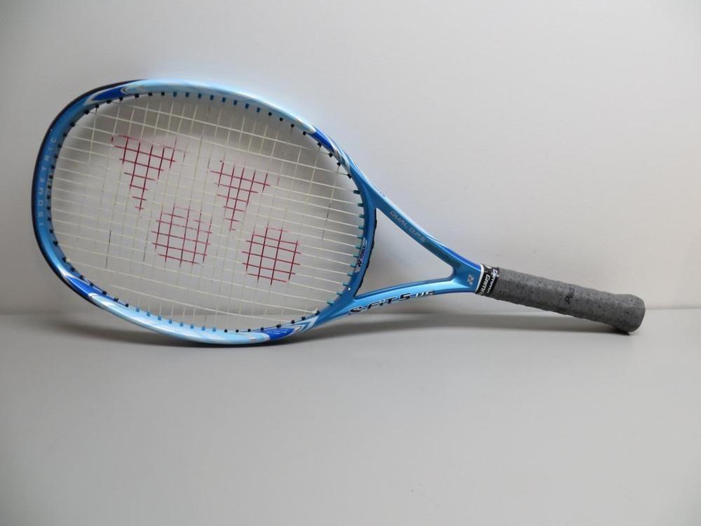 Yonex S Fit 5 Us Tennis Racquet Racket 4 1 4 Used Strung Duel O P S Yonex Tennis Racquet Racquets Tennis