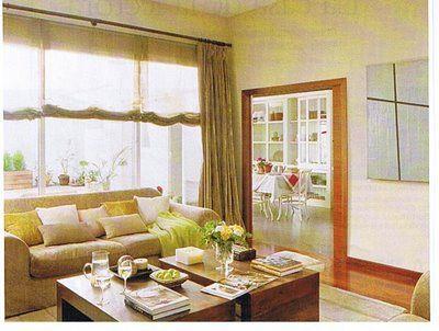 Estores y cortinas para comedor | cortinas | Pinterest | Cortinas ...