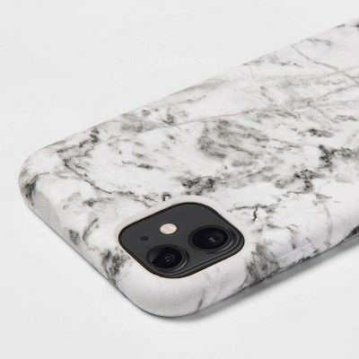 heyday™ Apple iPhone 11/XR Case - White Marble