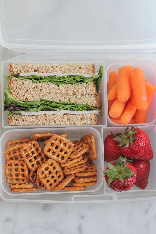 25 Healthy Back To School Lunch Ideas | School lunch ...