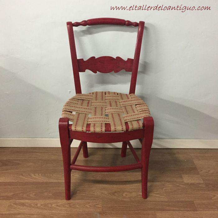 Como tapizar sillas paso a paso latest cmo pintar las telas y tapizados de sillas y sillones - Materiales para tapizar sillas ...