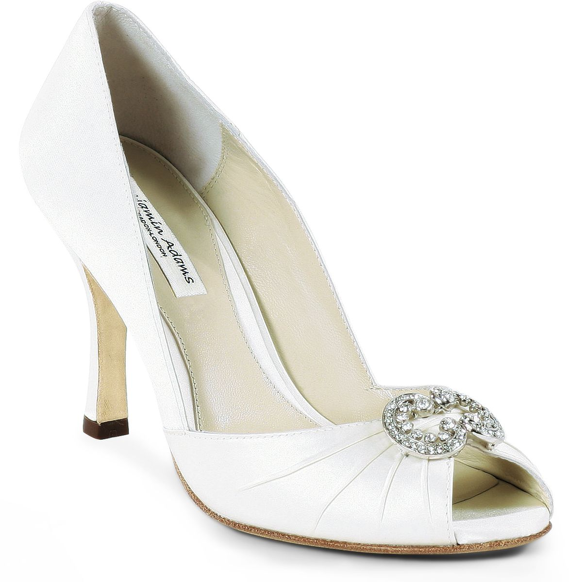 dream wedding ivory benjamin adams winslet bridal shoes