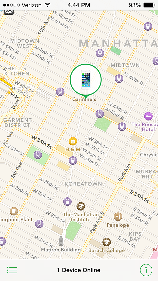 How to Use 'Find My iPhone' to Locate a Lost Phone