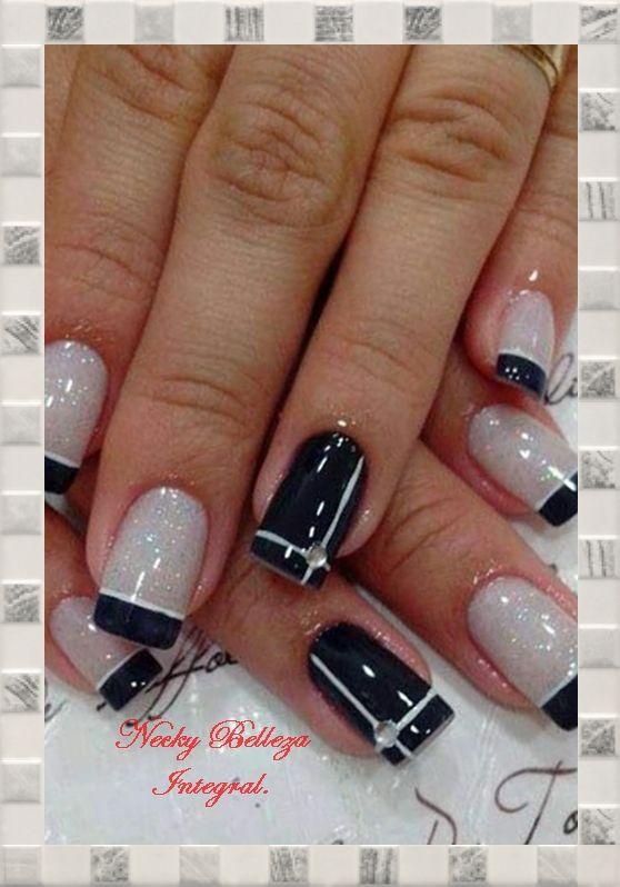 Uñas Decoradas Con Esmalte Uñas Pinterest Nail Designs Nails