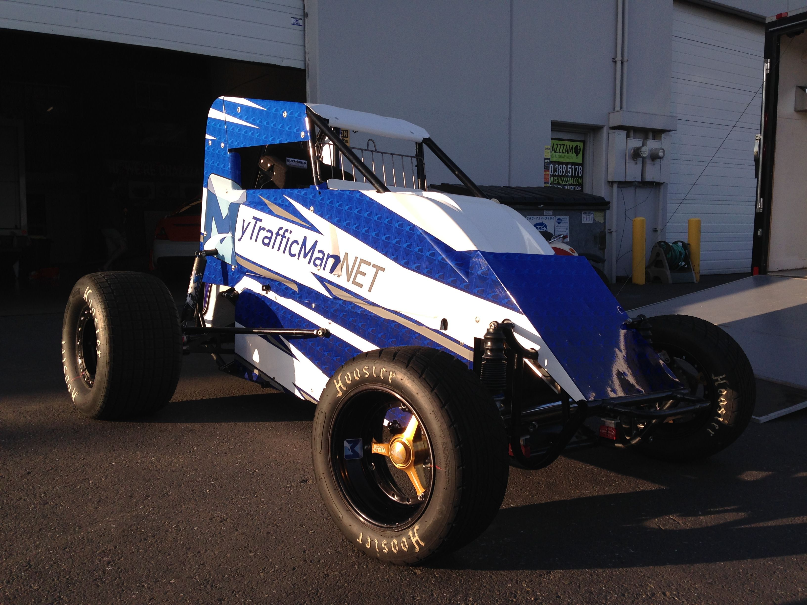 Mytrafficman Net Sprint Car Wrapped By Chazzzam And Driven By 16